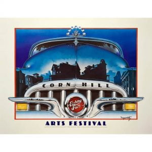 1985 Corn Hill Arts Festival Poster