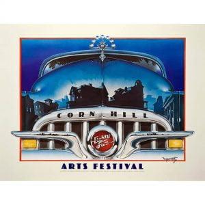 1985 Corn Hill Arts Festival Poster
