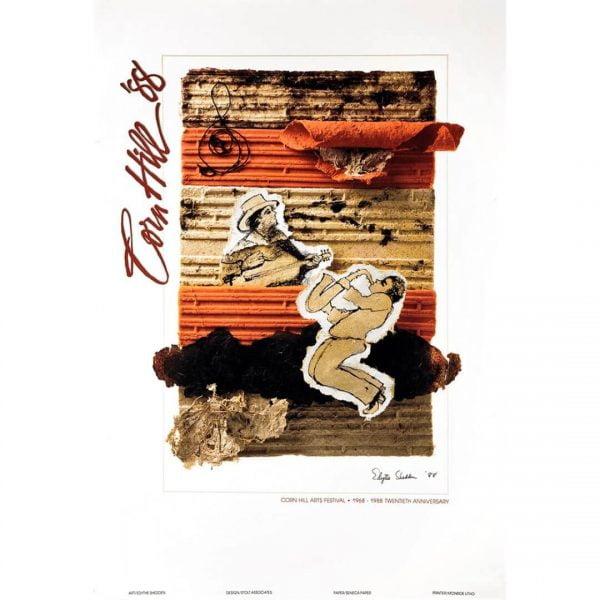 1988 Corn Hill Arts Festival Poster
