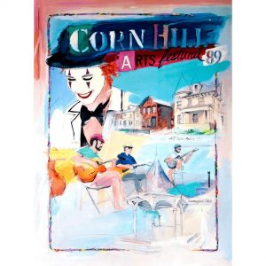 1989 Corn Hill Arts Festival Poster
