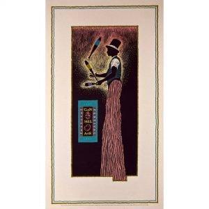 1991 Corn Hill Arts Festival Poster