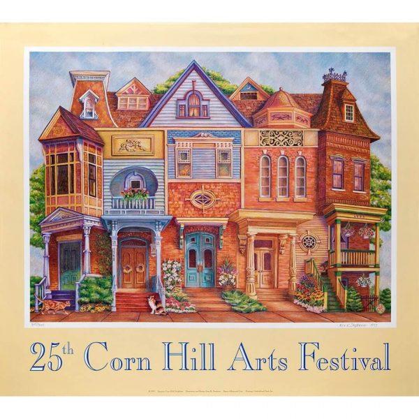 1993 Corn Hill Arts Festival Poster