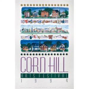 1994 Corn Hill Arts Festival Poster