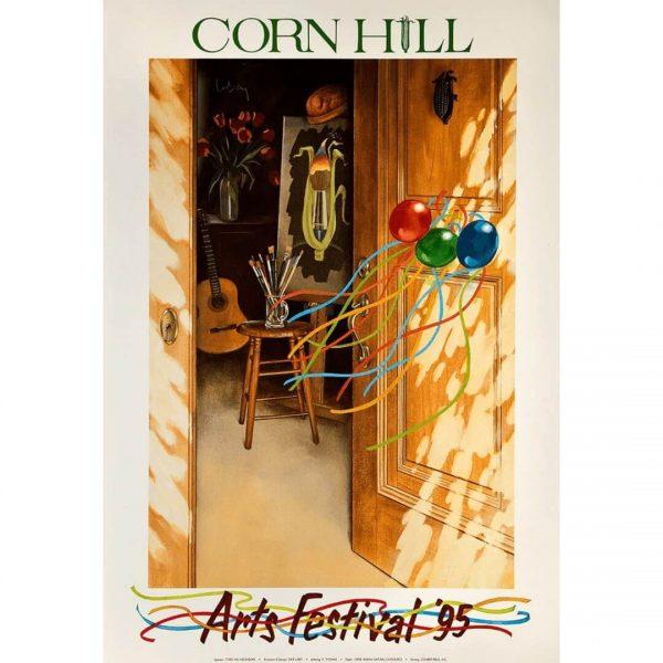 1995 Corn Hill arts Festival Poster