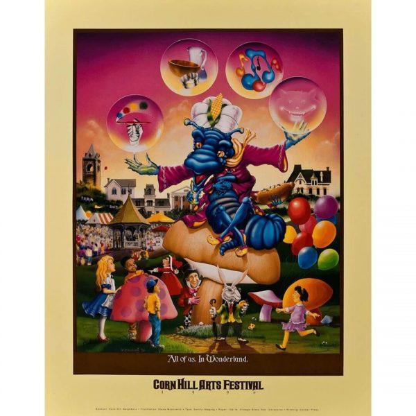 1996 Corn Hill Arts Festival Poster