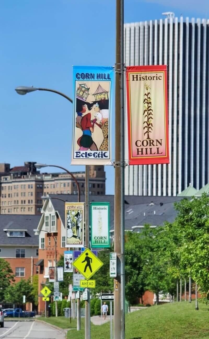 corn hill street banners